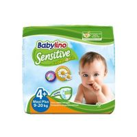 Babylino Sensitive Maxi Plus Πάνες (9-20kg) 19τεμάχια