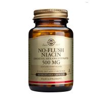 Solgar No-Flush Niacin 500mg Βιταμίνες 50 Veg. Caps
