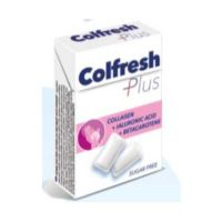 Colfresh Plus Collagen & Ialuronic Acid & Betacarotene Τσίχλες Για Το Δέρμα 24g