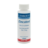 Lamberts Zincatest 15mg 100ml