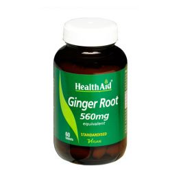 Health Aid Ginger Root Extract  560mg 60 ταμπλέτες